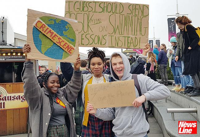 SCHOOL YOUTH STRIKE OVER CLIMATE CHANGE