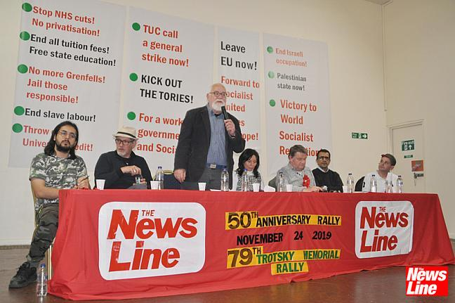 News Line 50th Anniversary Rally 24.11.19