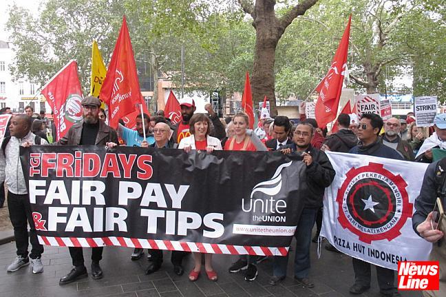 McDonald's Fridays, Uber Eats and Wetherspoon strike!