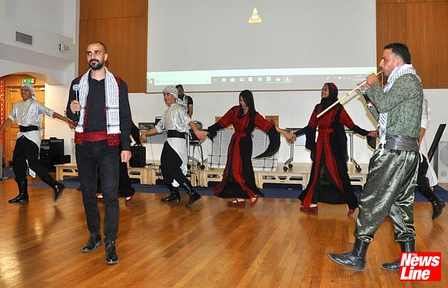 Thrilling night of Palestinian dance & song!