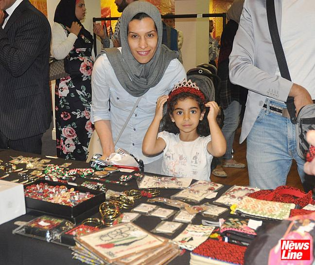 0223 Hand made gifts and jewellry from Palestine was on sale