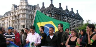 Vigil for Jean-Charles de Menezes in Parliament Square on July 29