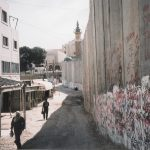 The Israeli Apartheid Wall at Abu Dis on the outskirts of Jerusalem – the Israelis have begun to build the 'third phase'  of the wall to encircle Bethlehem and Hebron