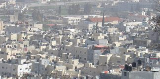 The Palestinian town of Jenin which was occupied by a large force of Israeli troops for 78 hours from the morning of December 29