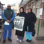 Gate Gourmet locked-out workers getting support at the Hillingdon council depot