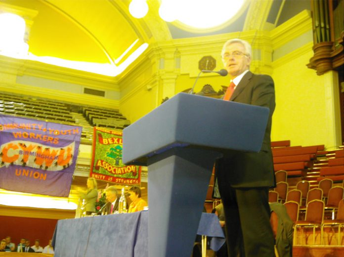 Labour MP JOHN McDONNELL told the rally the New Labour government is laundering money into the private sector