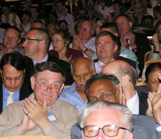 Delegates applaud at the BMA Annual Representative Meeting last month