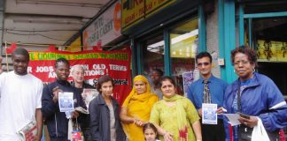 Gate Gourmet locked-out workers and their campaign team won big support on Southall High Street and from postal workers at Greenford Mail Centre yesterday