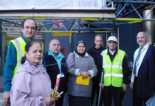Gate Gourmet locked-out workers campaigning at Heathrow airport yesterday