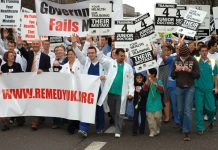 Junior doctors marched in their thousands a week ago throuhh London and Glasgow, in opposition to the MTAS scheme, defending their jobs and the NHS