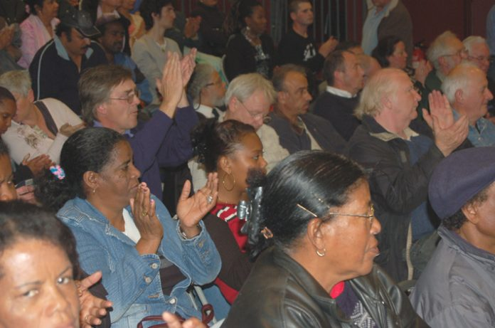 A section of the audience at the News Line - All Trades Unions Alliance conference