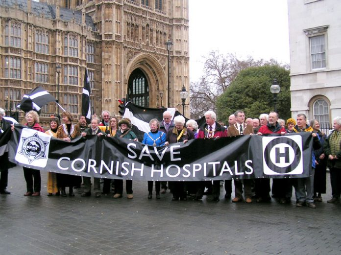 Lobby of Parliament on January 16th by hospitals from all over the country against NHS cuts