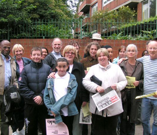 Teachers, parents and pupils from Highshore School attended Wednesday night's meeting to voice their opposition to closure and 'co-location'