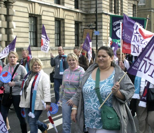 Marchers are taking place all over the country to defend the NHS!