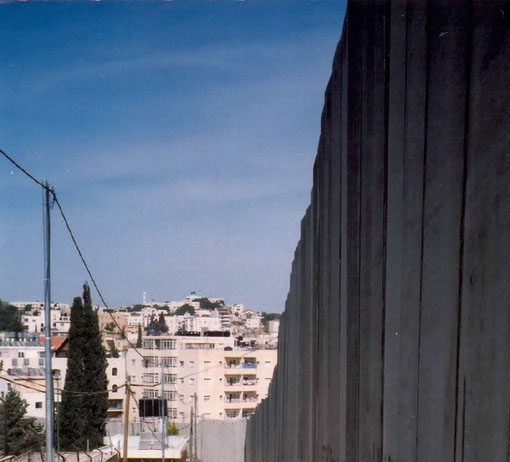 The Israeli separation wall grabs more Palestinian land in the occupied territories