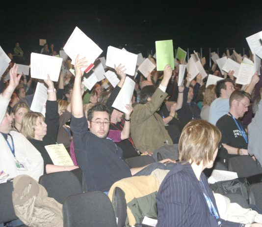NUT delegates voted to ballot for further strike action following the expected national pay strike on April 24th