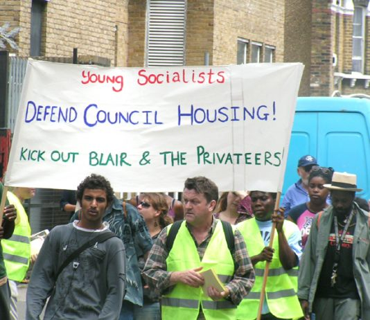 Tenants on the Aylesbury and Heygate estates have been fighting for a number of years against the plans to demolish their homes, and are now to march again to drive the privateers out of the area