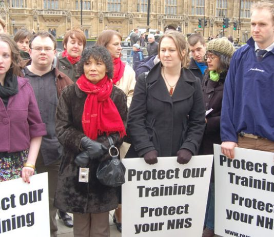 Junior doctors warning that the sabotage of their training is undermining the NHS