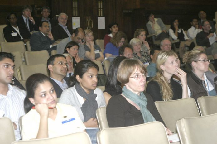 A section of the audience at the BMA special conference in London on Wednesday