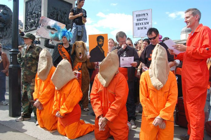 immediate release of Binyam Mohamed and all political prisoners still being held in Guantanamo Bay