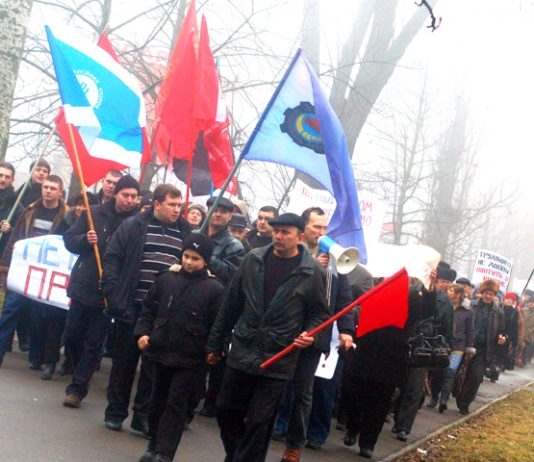 Kherson engineering workers have called on workers throughout the Ukraine to support their struggle