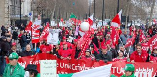 Trade unionists from all over Europe joined last Saturday's 50,000-strong March for Jobs and Justice in London