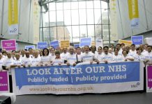 BMA launches the 'Look After Our NHS' campaign at its Annual Representation Meeting last June