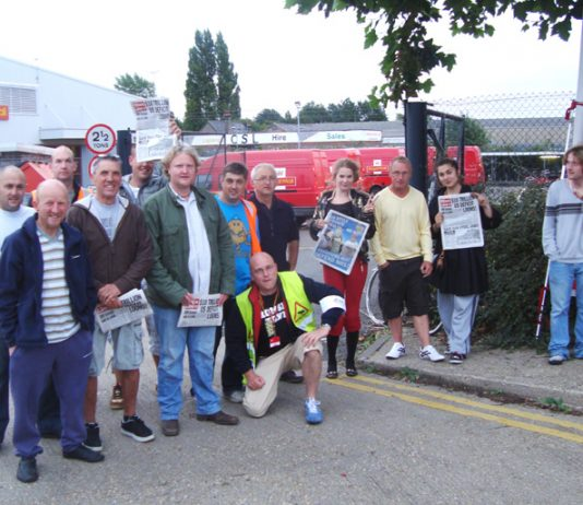 Striking Cambridge postal workers said the mood is defiant as they look forward to the national strike