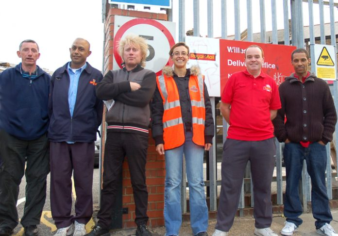 'National action is long overdue' was the feeling on the picket line at Willesden Delivery Office