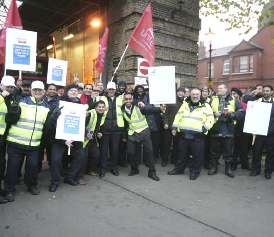 BUS drivers in East London are taking strike action today in their quest to win fair wages and a better pay deal from their employers, London transport company CT Plus. The strike follows a three-day strike at East London Bus group (pictured above). Today