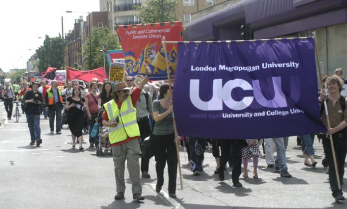 Lecurers and students are united in their opposition to cuts to staff and courses especially drastic due to a financial crisis at the London Metropolitan University