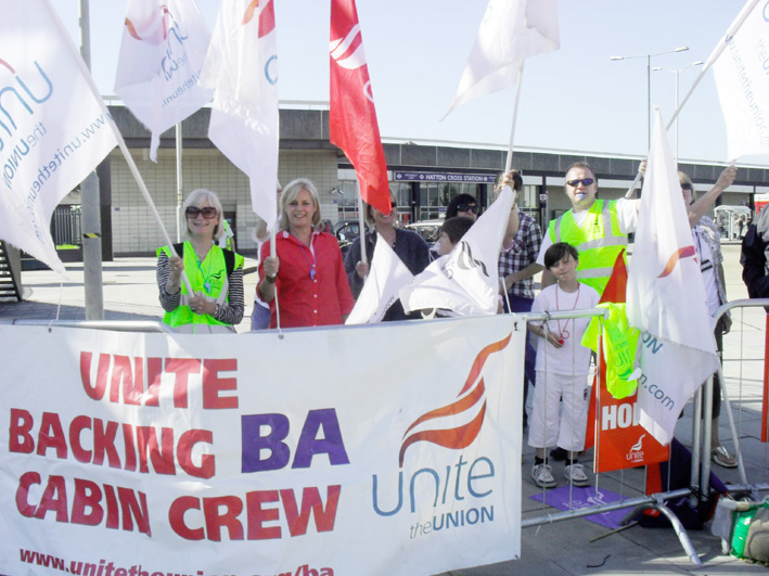 BA cabin crew strikers are fighting for the whole trade union movement