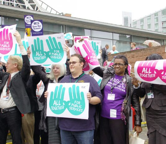 TUC Congress delegates in Manchester