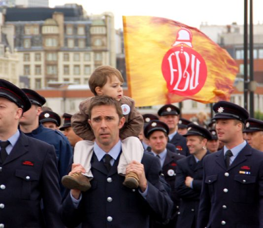 London FBU Strike Actions!