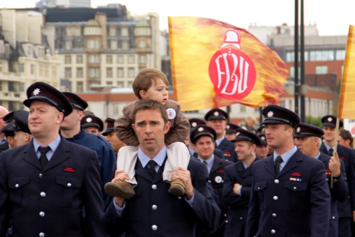 London FBU Strike Actions!