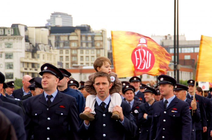 Osborne told firefighters yesterday that the service must agree to 'substantial operational reform'