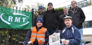 RMT Tube workers fighting London Underground's plans to sack 800 workers are threatened by Tory coalition plans to provide free labour for employers