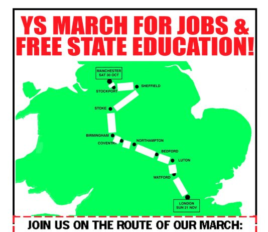 Ys March For Jobs