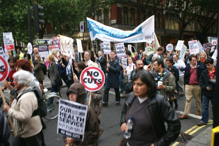 March from the UCH hospital to the Department of Health on May 17 demand no to cuts and privatisation