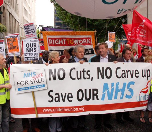 March on the 63rd anniversary of the NHS, was supported by BMA members who fought for their union's policy that the Health Bill be immediately withdrawn