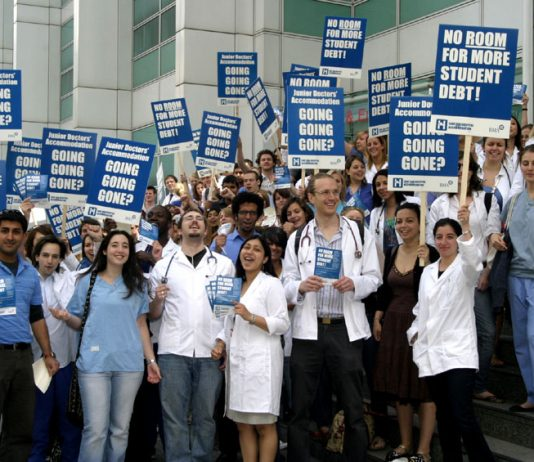 Medical students face massive debts by the time they graduate