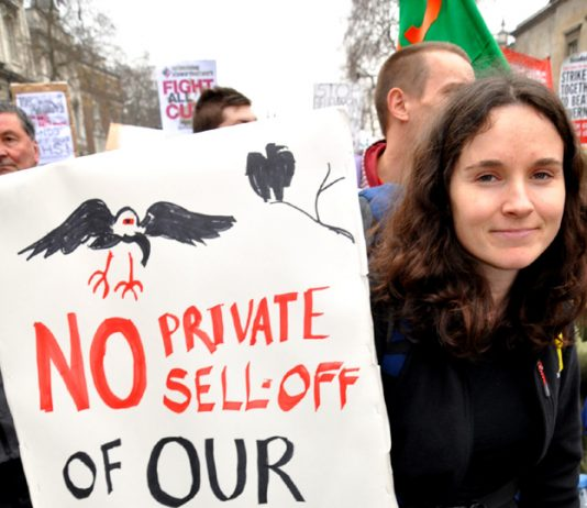 No NHS privatisation!