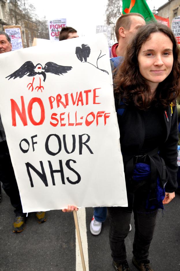 No NHS privatisation!