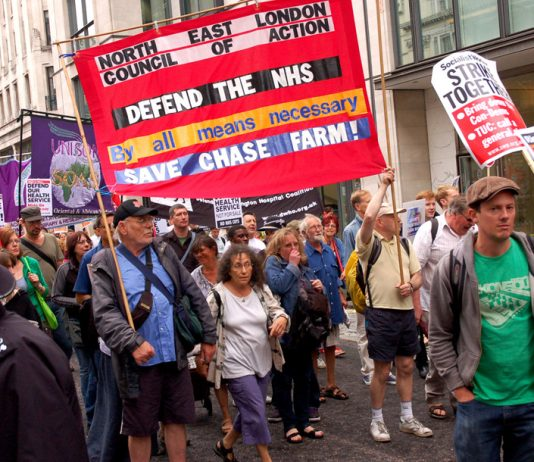 The July 5th NHS Anniversary march showed the determination to defend the NHS by all means necessary