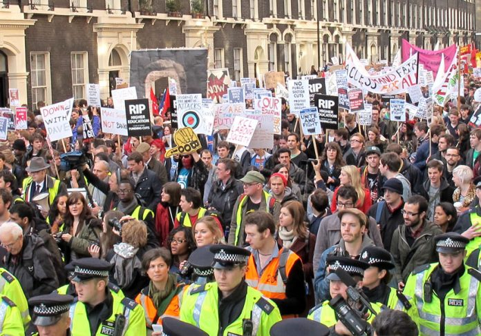 Thousands of students took the streets of London for the National Day of Action last November against fees, education cuts and the scrapping of EMA