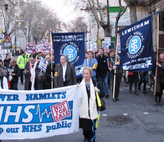 The health trade unions and the BMA are now on the front line of the struggle to defend the NHS and the Welfare State