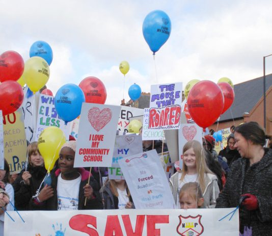 The Haringey community rose up in January against plans to force Noel Park primary school to become an Acadamy