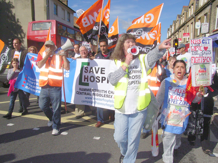 THERE'S GOT TO BE DIRECT ACTION TO SAVE OUR HOSPITALS