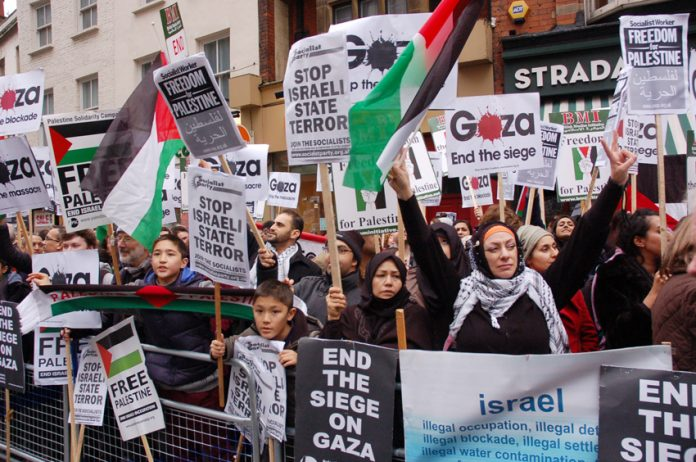 Workers and youth in the UK are fighting to lift the siege on Gaza and establish the state of Palestine