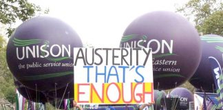 Workers throught the UK have had enough of Tory coalition austerity – time for action has come